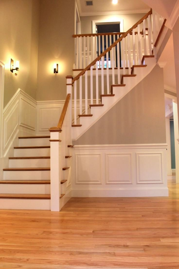 Laminate Floor for the Staircases