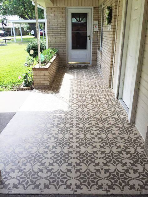 Entryway with Patio and Porch