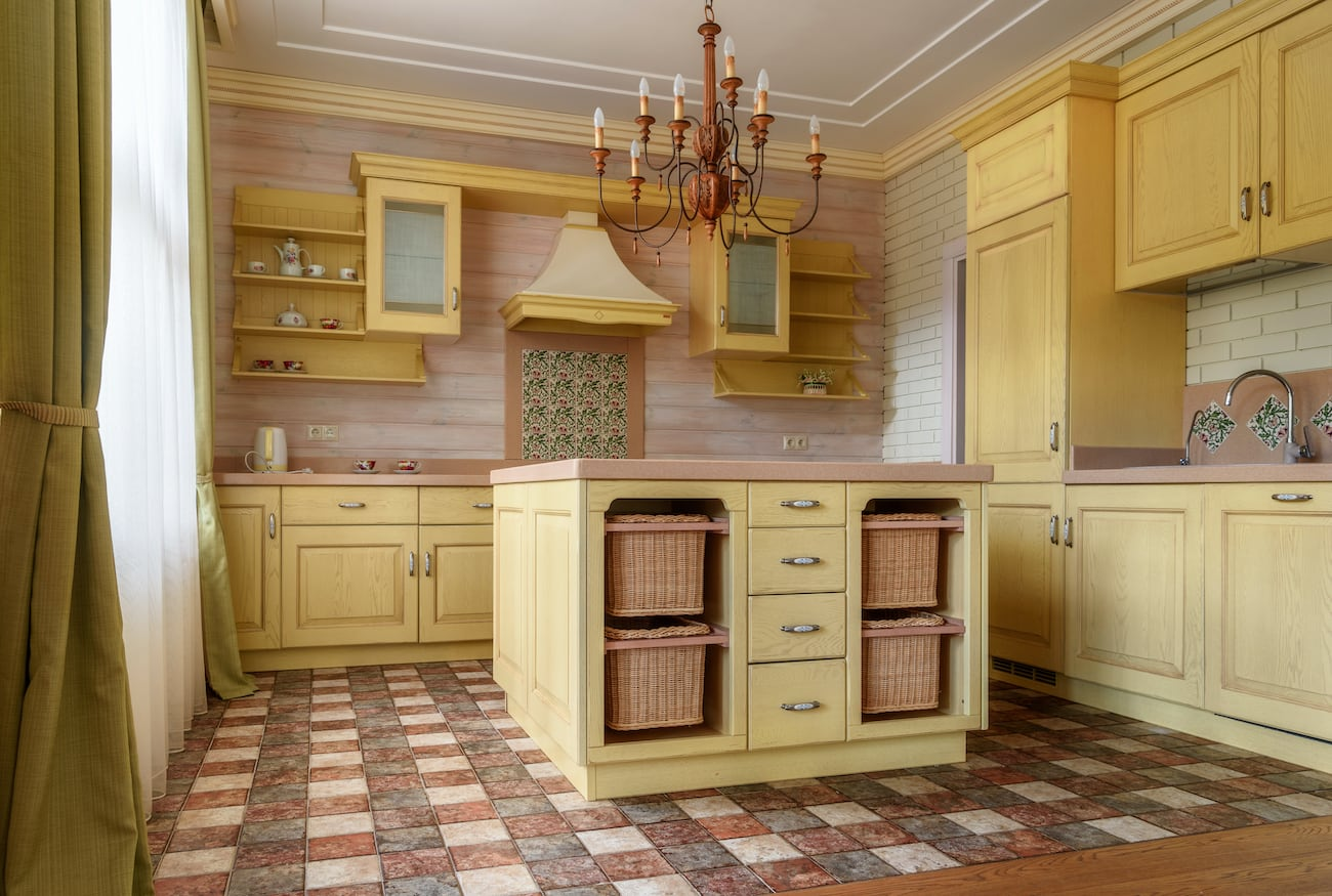 Modern Kitchen on Country House