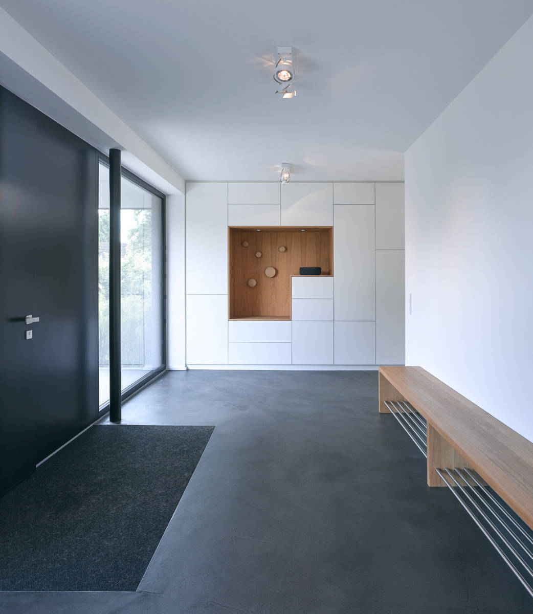 Polished Concrete Entryway