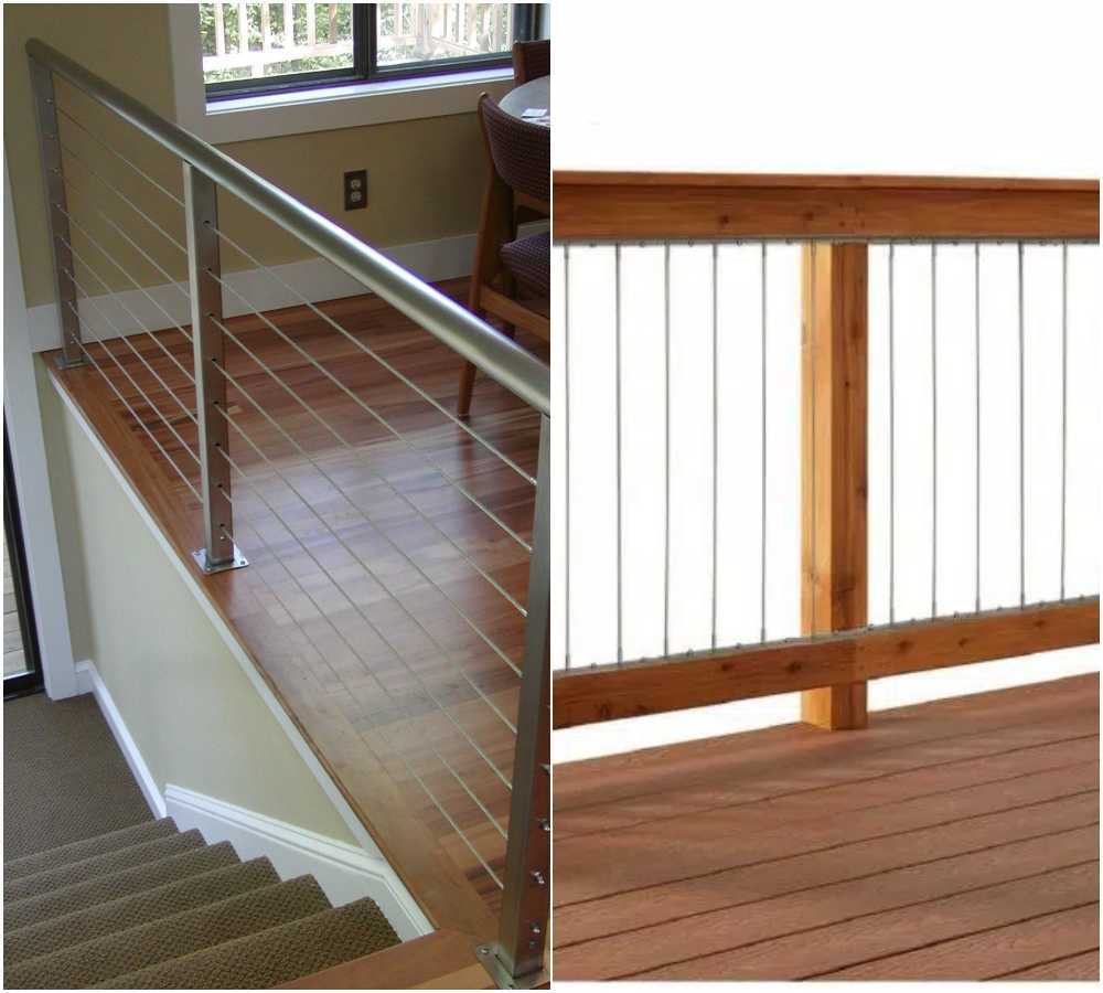 Horizontal vs Vertical Stainless Steel Cable Railing